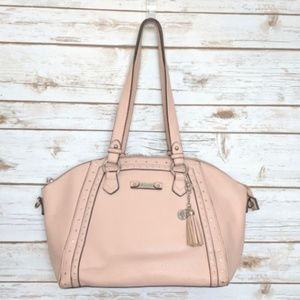 Jessica Simpson cross-body bag in pale pink
